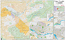 Mesa County Wall Map (Assessor Index)